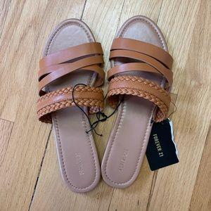NWT Forever 21 Slide Sandals